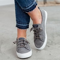 Sperry Crest Vibe Sparkle - Chambray Grey