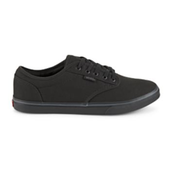 Vans Atwood Women's Skate Shoe An instant classic at the park or on the street, the Vans Atwood women's shoe features true skate styling with a low profile and lightweight canvas construction. (BLACK)
