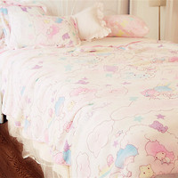Gemini milk ice cream pillowcase + carpet from Harajuku fashion