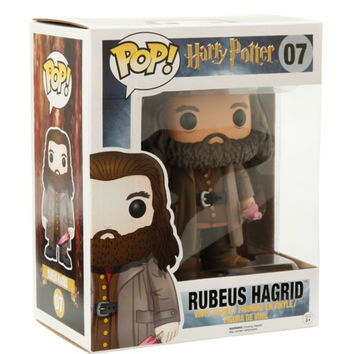 "Funko Pop! Harry Potter Rubeus Hagrid 6"" Vinyl Figure"