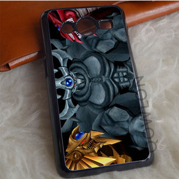 Yu Gi Oh Three Monster Samsung Galaxy Core 2 Case