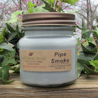 PIPE SMOKE CANDLE - Strong - New - Tobacco
