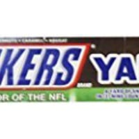 SNICKERS A Yard of Snickers Bars in (2) Nine Count Serving Trays - Qty. 18 1.86 oz. Bars - NFL Sponsor