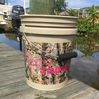 5 Gallon Camo Bucket