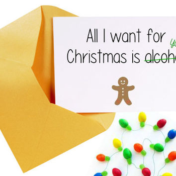 Funny Christmas Card/Cute Christmas Card/Christmas Card Set/Holiday Cards