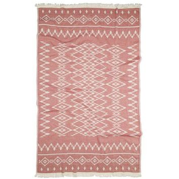 Turkish-T - Kilim Beach Towel | Red