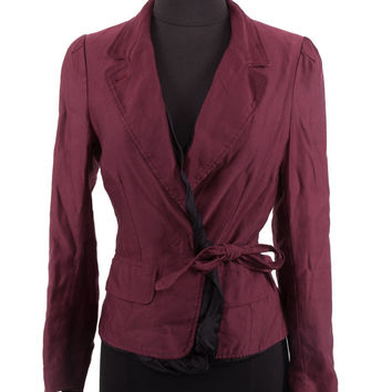 Women's Dries Van Noten Bordeux Jacket
