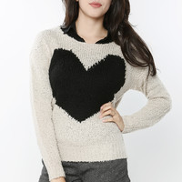 Big Heart Cozy Sweater