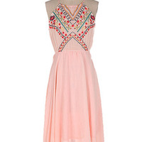 A Day In Spain Embroidered Dress
