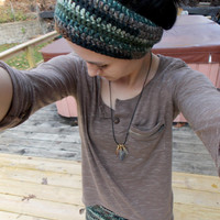 Earthy Headband Dreadband Ear Warmer for Cold Winter Weather // Dread Lock Accessories