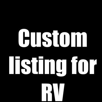 Custom Listing for RV