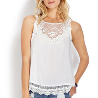 Delicate Darling Crocheted Top