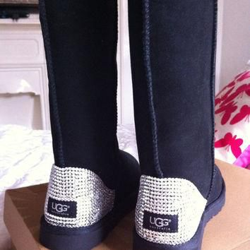 Custom Swarovski Elements crystal Ugg Boots