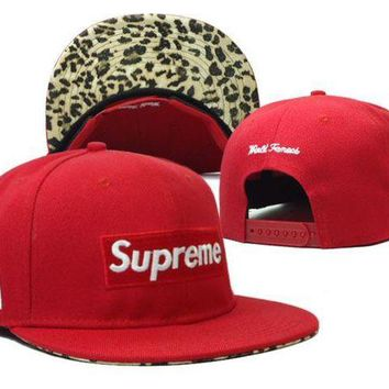 DCCKUN7 Supreme Cap Snapback Hat - Ready Stock
