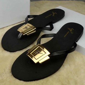 Fashion Online Ysl Women Casual Fashion Flat Sandal Slipper Shoes