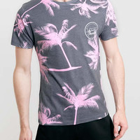 Hot Thunder Pink Palm Tree T-shirt* - Men's Tees & Tanks - Clothing