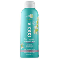 Coola Sport Continuous Spray SPF 30 - Fresh Cucumber