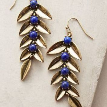 Metis Drops by Giles & Brother for Anthropologie in Gold Size: One Size Earrings