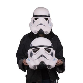 Free Shipping Star Wars Stormtrooper Mask Latex Fu