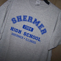 THE BREAKFAST CLUB Shermer High School T Shirt