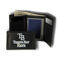 Tampa Bay Rays MLB Embroidered Trifold Wallet