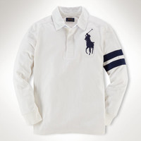 BIG PONY COTTON RUGBY