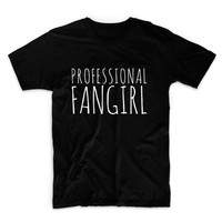 Professional Fangirls Unisex Graphic Tshirt, Adult Tshirt, Graphic Tshirt For Men & Women
