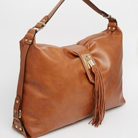 New Look Tassel Shoulder Bag at asos.com