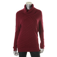 Sisters Womens Cable Knit Long Sleeves Pullover Sweater