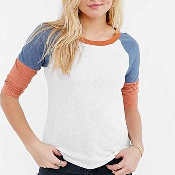 Truly Madly Deeply Colorblock Raglan Tee-