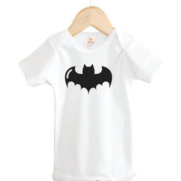 Baby Onesuit // Bat Onesuit // Halloween Onesuit // holiday // batman
