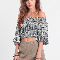 Tropical Getaway Crop Top