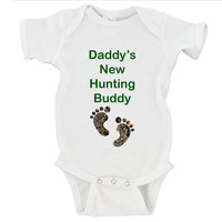 Daddy's New Hunting Buddy Gerber Onesuit ®