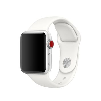 38mm Soft White Sport Band – S/M & M/L