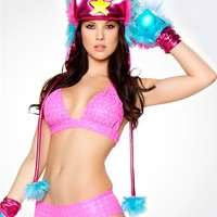 Girl's Rave Tops : Bikini, Cropped, and Halter Tops from RaveReady
