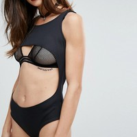 Rokoko Halloween Body With Under Boob Cut Out at asos.com