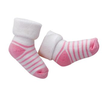 Newborn Infant Kids Cotton Socks Girl Boy Stripe Thickening Warm Soft Autumn Winter Socks