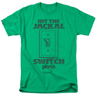 PSYCH/JACKAL SWITCH-S/S ADULT 18/1-KELLY GREEN