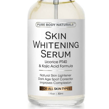 Skin Whitening Serum -Natural Skin Whitening Cream Treatment