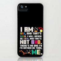 Wreck it Ralph, Disney Pixar... Funny and inspirational... Bad guy creed.. iPhone & iPod Case by studiomarshallarts | Society6