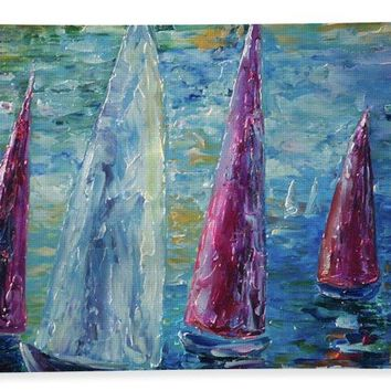 Sails To-night - Bath Towel
