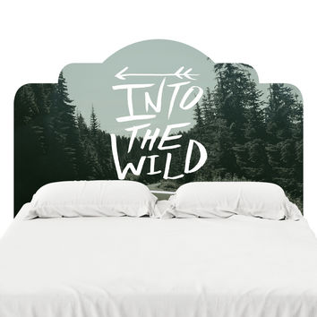 Into the Wild Headboard Decal