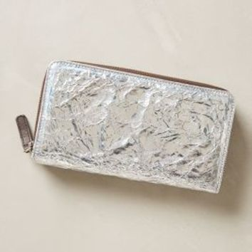 Cadmium Wallet by Alchimia Silver One Size Clutches