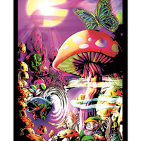 Magic Valley Blacklight Poster