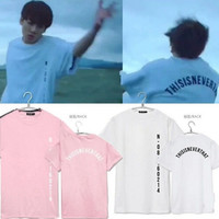2017 New Arrival BTS T-shirt Bangtan Boys Unisex Tee Kpop BTS SAVE ME JUNGKOOK Same Style short sleeves Couple T shirt tee