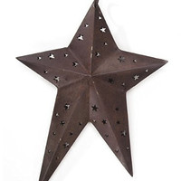 Darice 2471-10 Rustic Primitive Star for Crafting, 8-Inch