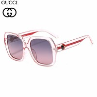 GUCCI tide brand female large frame driving polarized sunglasses C5