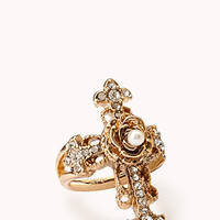Baroque Cross Ring