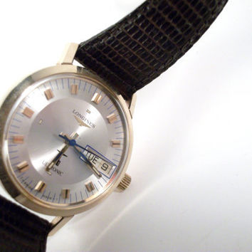 Mens Longines Watch AutomaticMINT by colorsoulartistry on Etsy