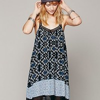 Free People Placed Printed Halter Dress